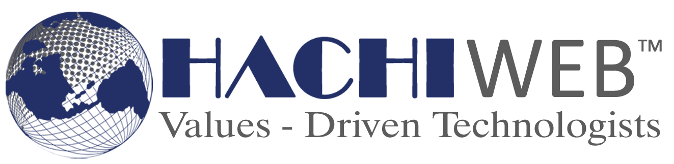 web development,hachiweb logo